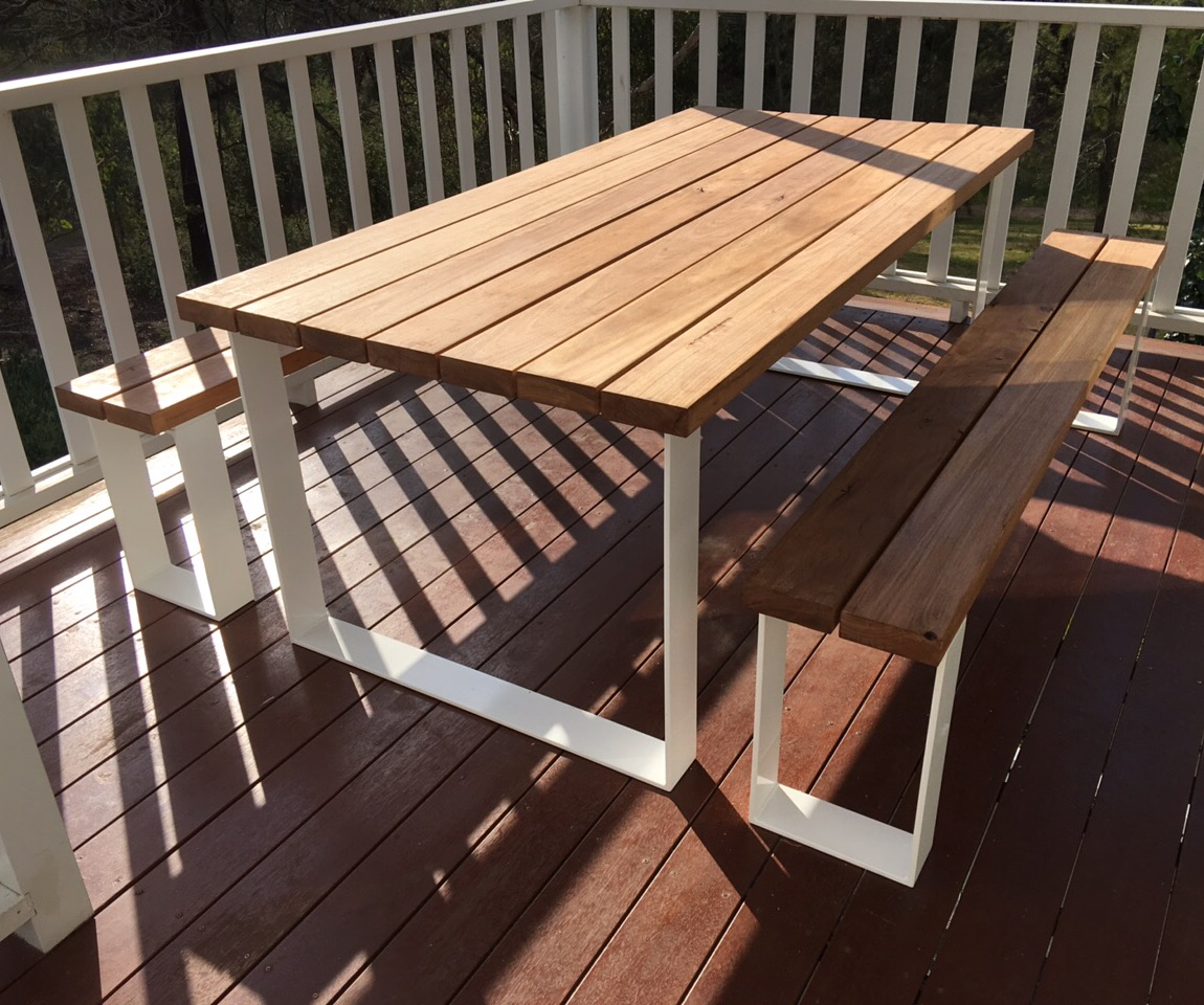White And Timber Coffee Table Timber Outdoor Tables Australia Lumber Furniture