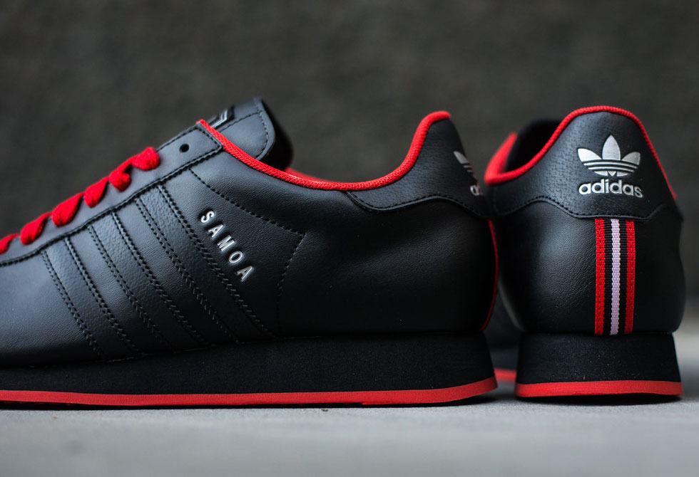 Adidas Samoa Black Poppy Lumberjac