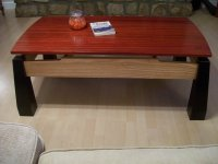 Asian inspired coffee table. - by DraftsmanRick ...