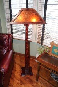 Craftsman Style Floor Lamp - by oldreddog @ LumberJocks ...