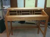 Ajo working: Wood standing desk plans