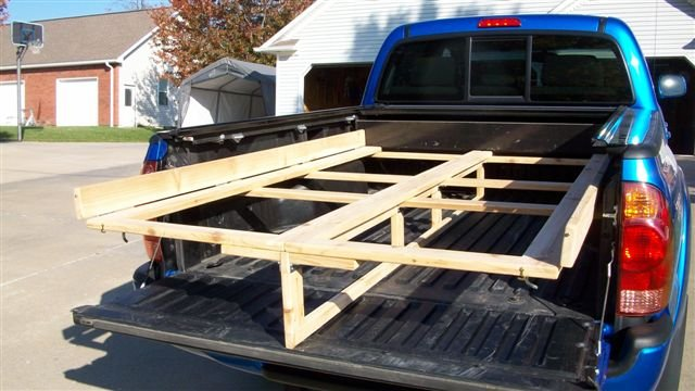 Plywood Rack For Toyota Tacoma Pickup By Mls