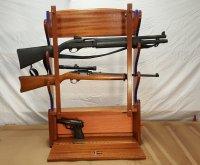 Wall Mounted Gun Rack