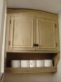 Curved bathroom wall cabinet - by rrdesigns @ LumberJocks ...