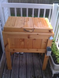 Patio Deck Cooler Stand Plans, Pine Benches For Sale ...