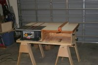 Workbench Plans Table Saw PDF Woodworking