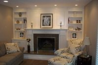 Fireplace surround with shelving and cabinets - by GaryL ...