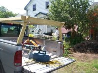 Quick release Ladder rack for my truck. - by hikE ...
