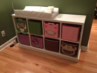 Pottery Barn Rip Off Changing Table/Storage - by Dominic ...