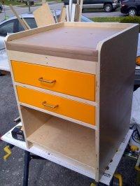Drill Press Cabinet - by matt12874 @ LumberJocks.com ...