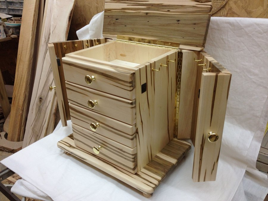 Book Of Jewelry Chest Woodworking Plans In Uk By Liam