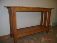 Craftsman Sofa Table - by jerif @ LumberJocks.com ...