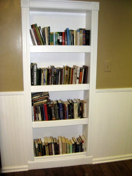 Built In Bookcase Door By Scott Wigginton Lumberjocks