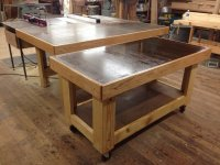 Rolling Torsion Box Assembly Table (Mini-Me) - by ...