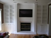 Living room built ins - by REME @ LumberJocks.com ...