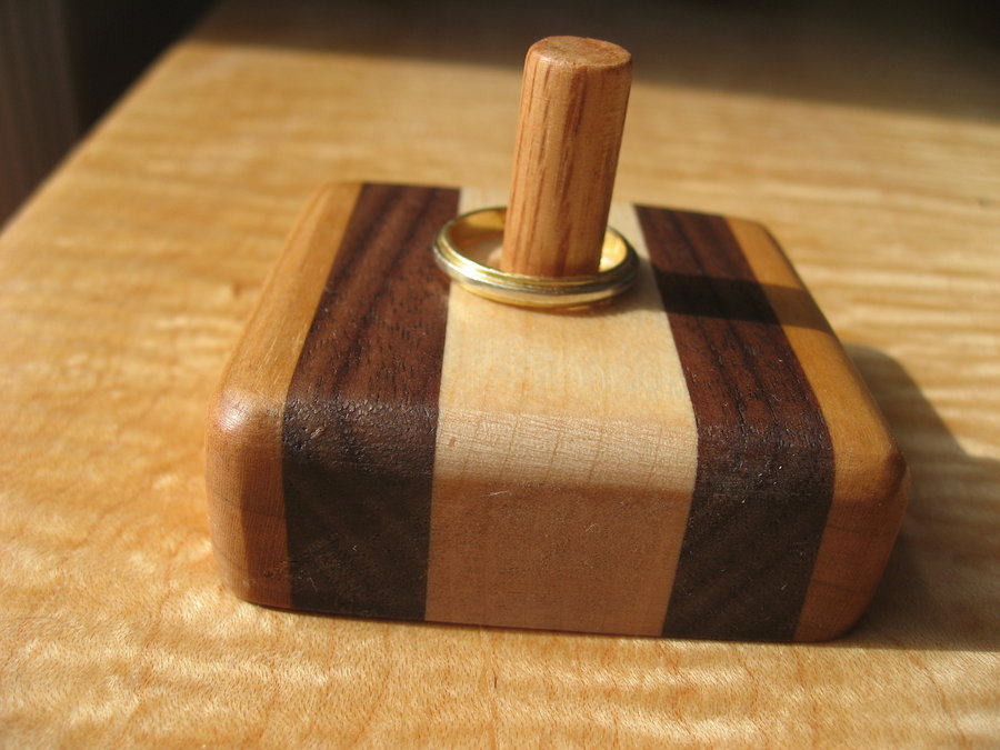 There Is No Scrap Wood Ring Holder By Loupitou06