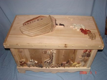 Noahs Ark Toy Box Plans From The Cherry Tree By Steve