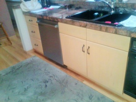 Matched Finish Replacement Cabinet Doors And Drawer Faces