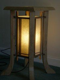 Shoji floor lamp - by CJay @ LumberJocks.com ~ woodworking ...