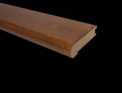 3 4quot X 3 1 8quot X 78quot Molasses Maple Stair Nose Lumber