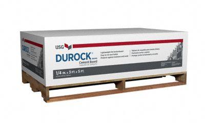Durock 1 4quot X 339 X 539 Edgeguard Underlayment Lumber