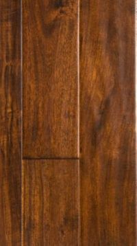 "1/2"" x 5"" Golden Teak Acacia Handscraped - Virginia Mill ..."