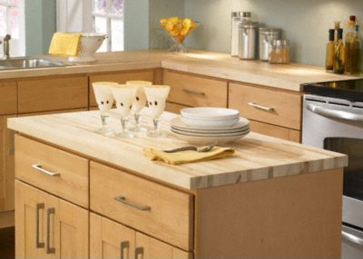 Kitchen Island Butcher Block Tops 1 1 2