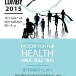 2016 Prescription for Health Walk Roll Run