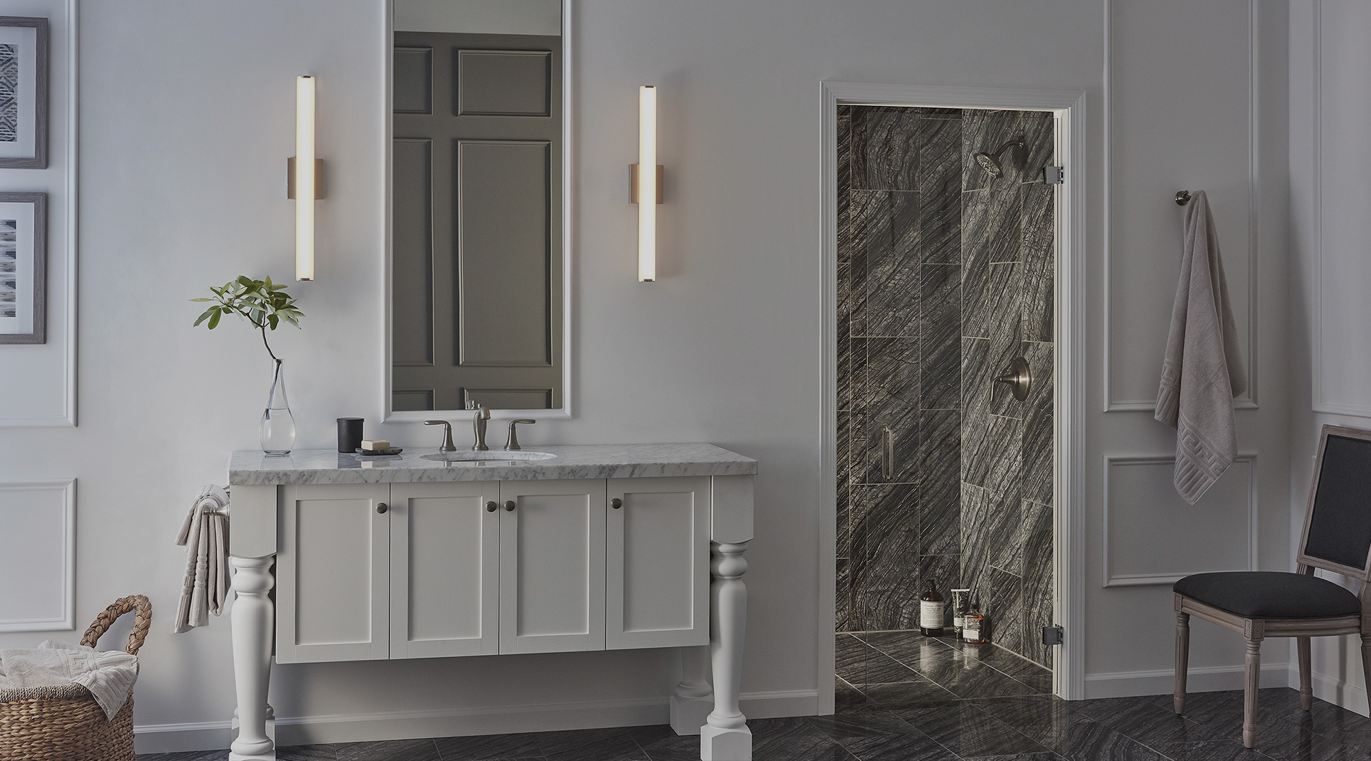 Small Floor Spotlights Bathroom Lighting Ideas 3 Tips For The Best Bath Lighting At