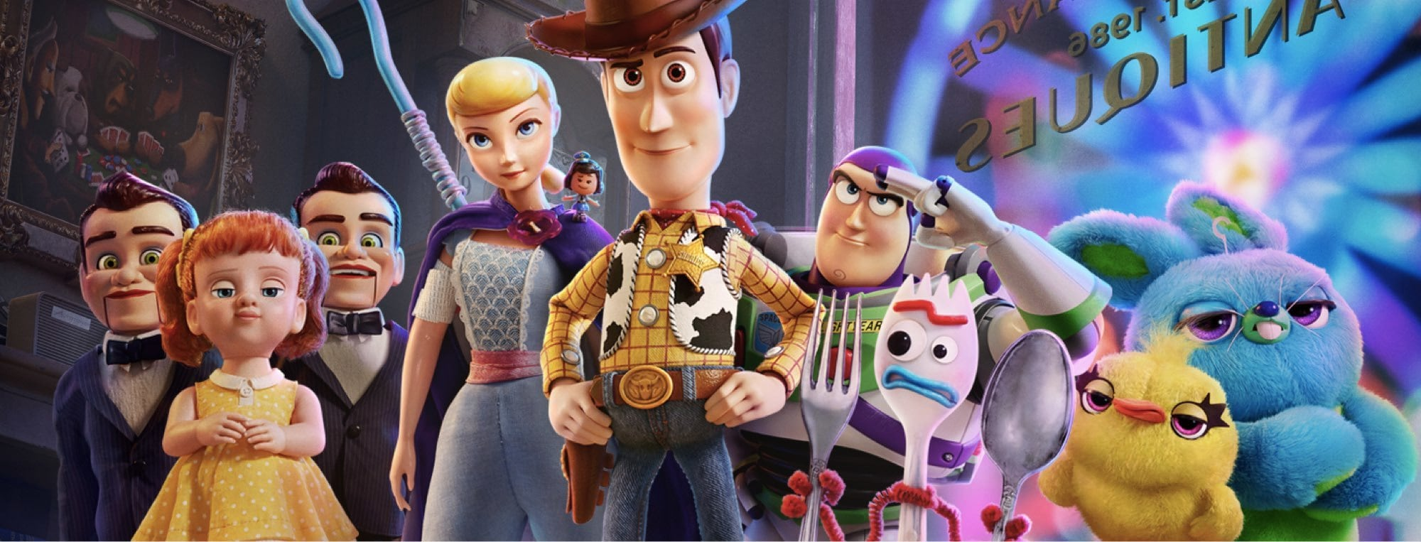 Toy Story 4 Meet The Characters Disney Uk