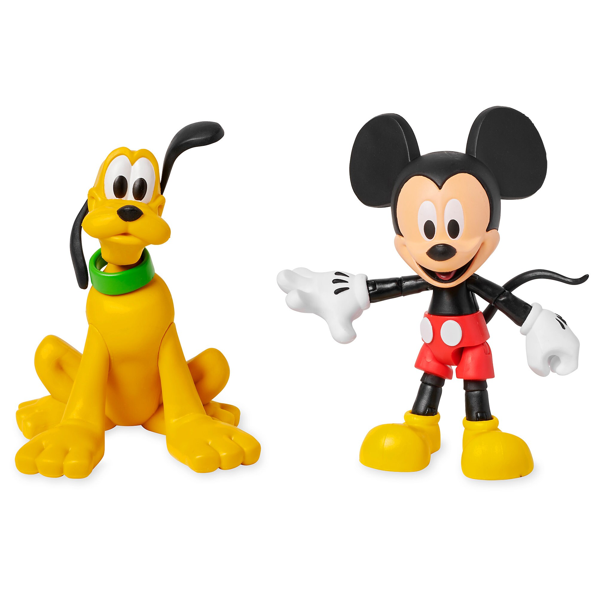 Disney Mickey Mickey Mouse And Pluto Action Figure Set Disney Toybox