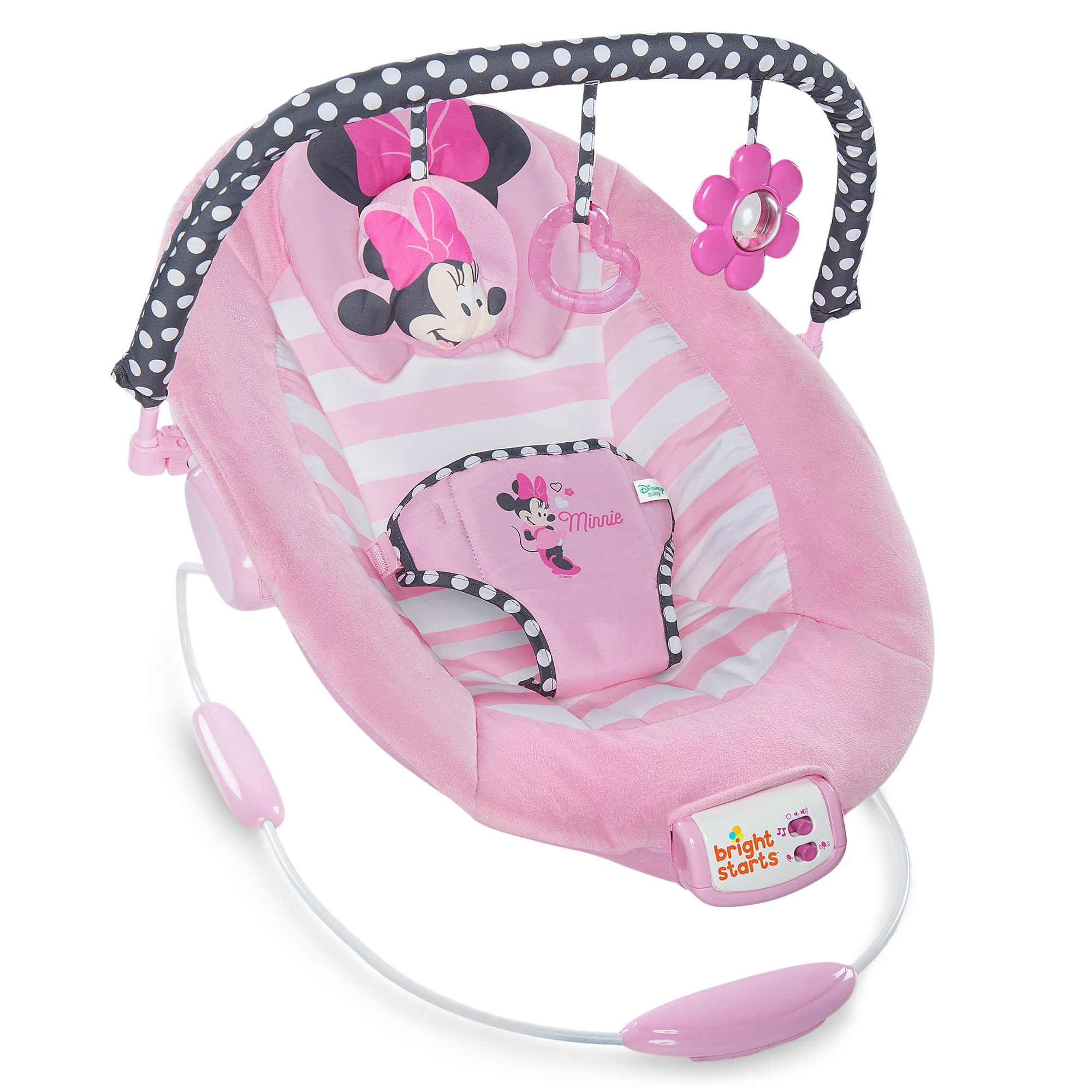 Bouncer Baby Minnie Mouse Bouncer Seat For Baby By Bright Starts