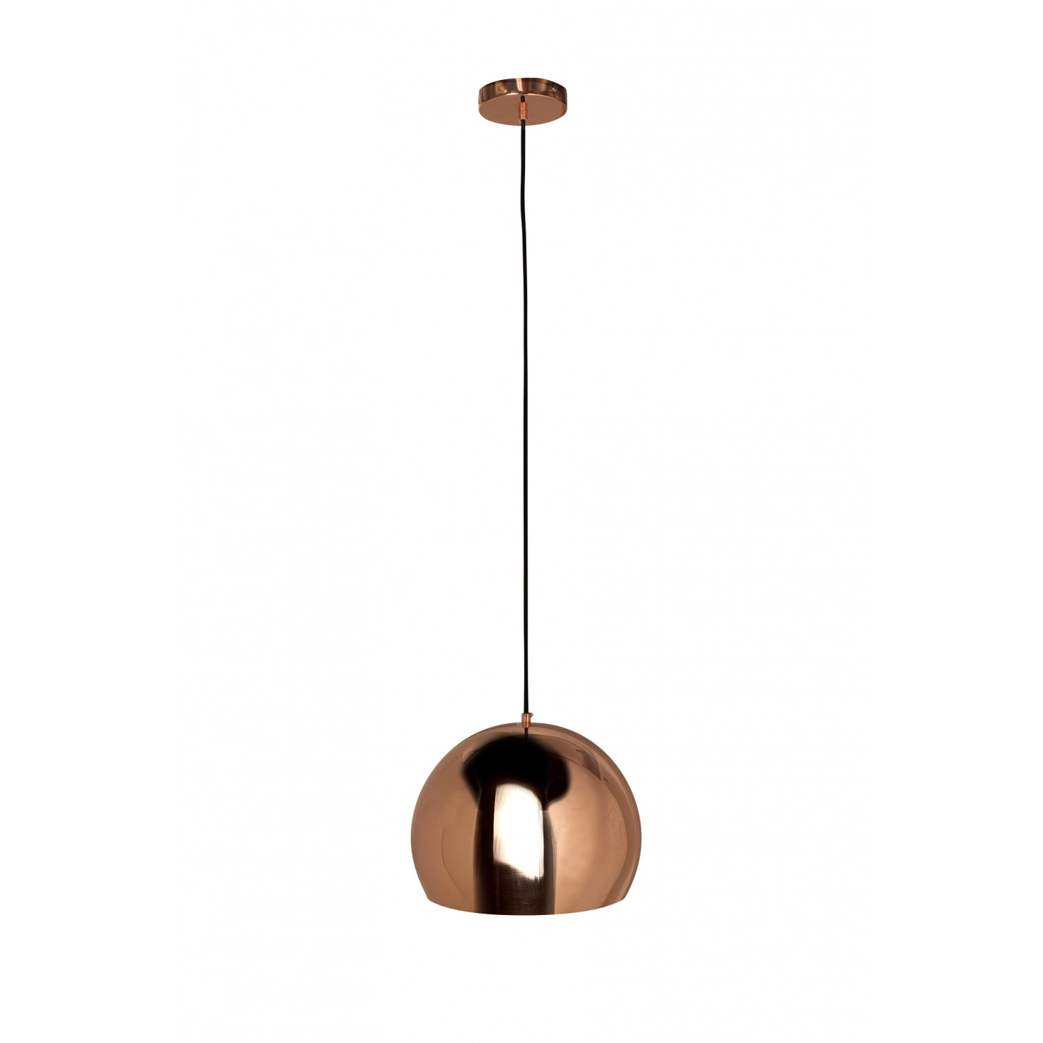 Lampe Suspension Cuivre Suspension Boule Cuivre Noxe