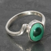 Malachite Ring | Lumina Jewellery