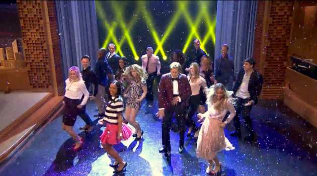 Kevin Bacon's Epic 'Footloose' Entrance on 'The Tonight Show'