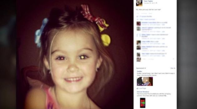 Facebook Photo Saves Young Girl From Blindness