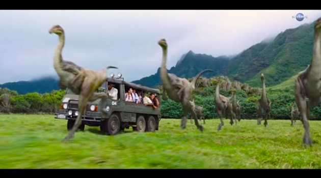 WATCH: Jurassic World Teaser and Countdown