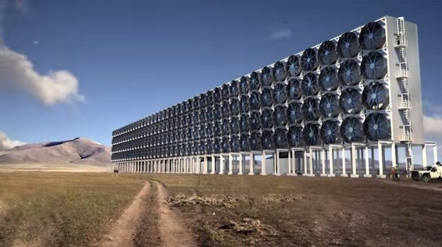 This Machine Sucks CO2 Pollution Out of the Air, Turns it Into Fuel