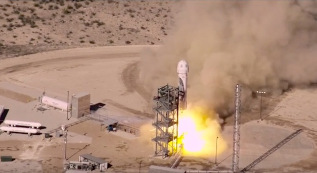 Blue Origin Launches and Successfully Lands Reusable Rocket (Watch Video)