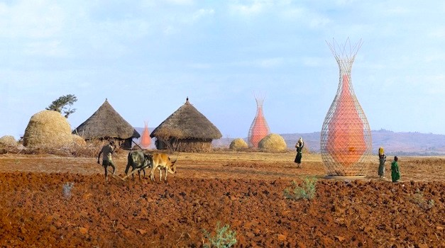 These Towers Literally Pull Water From Thin Air for Developing Nations