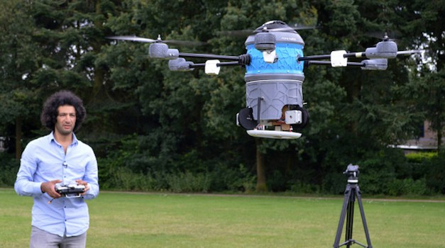 A Revolutionary New Drone Can Find And Destroy Land Mines