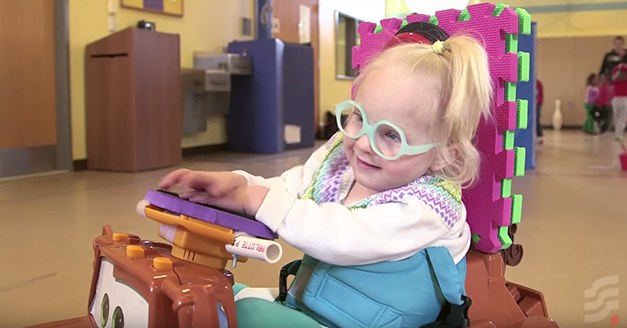 These 'Power Wheels' Help Disabled Children Move, Discover the World