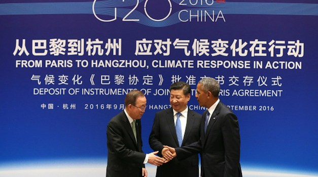 U.S. And China Join The Paris Climate Agreement