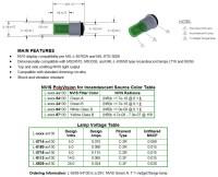 T-1 Based - Lumitron Aerospace Lighting Components