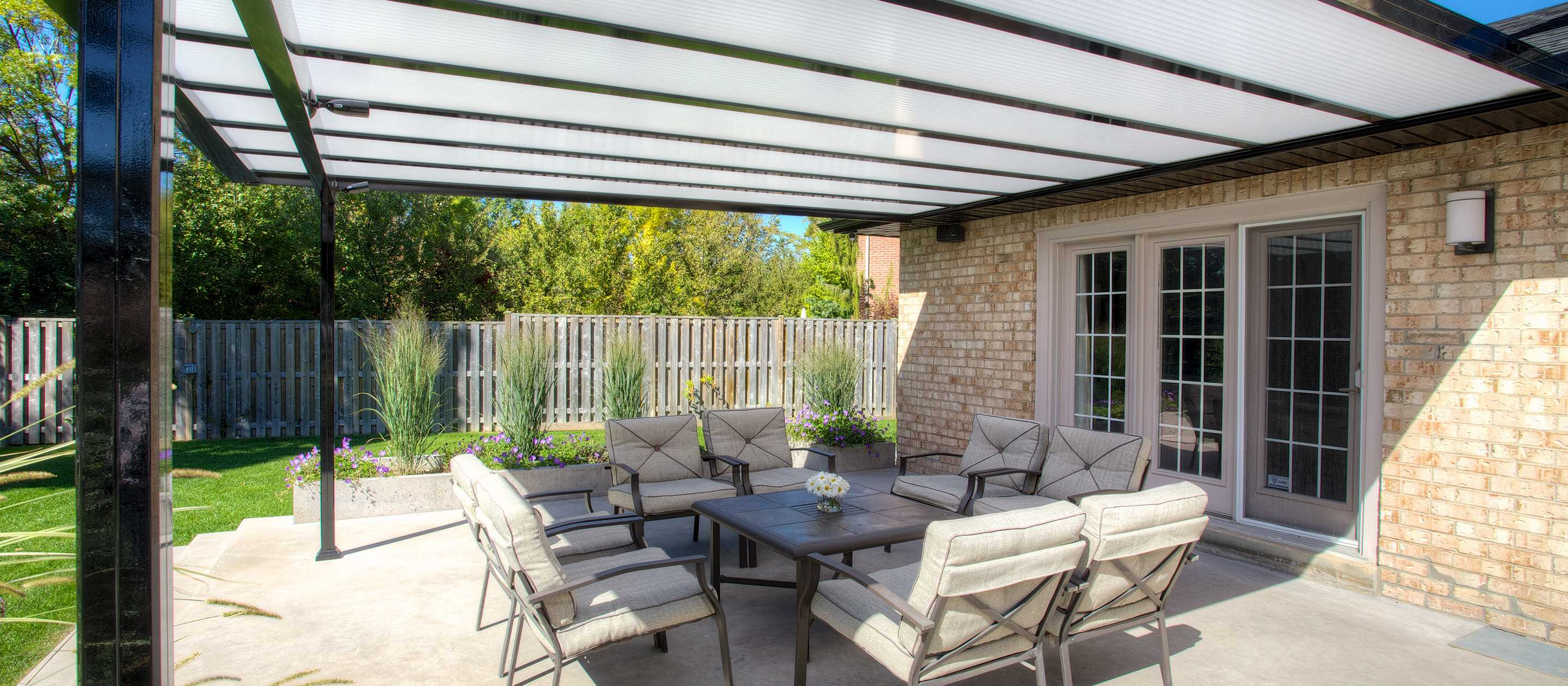 Cover Patio Pergola Benefits Of Having A Covered Patio In Vancouver Toronto And