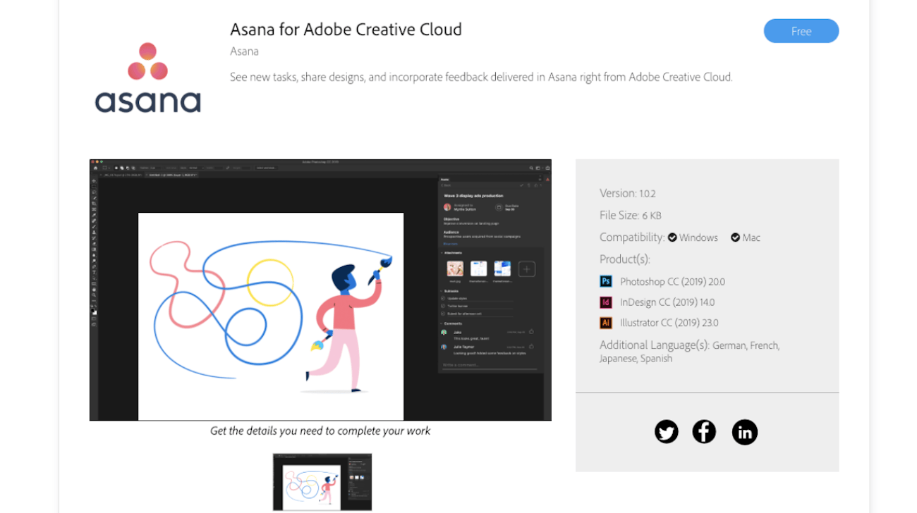 Adobe Photo Asana Für Adobe Creative Cloud Asana