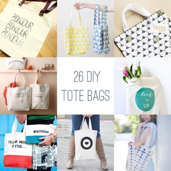 DIY Gift Tote Bag