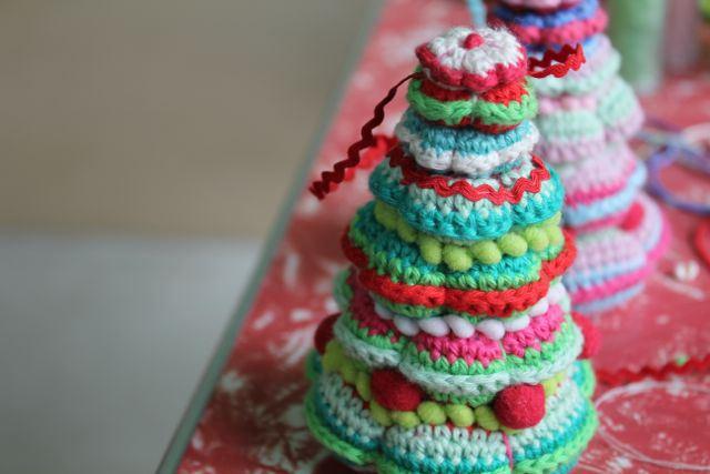 DIY mistery 10 alberi di Natale a Crochet