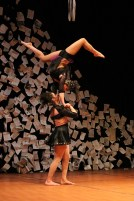 "Erica Rubinstein and Jacki Ward Kehrwald in Elizabeth Klob's ""The Language of Chance"""