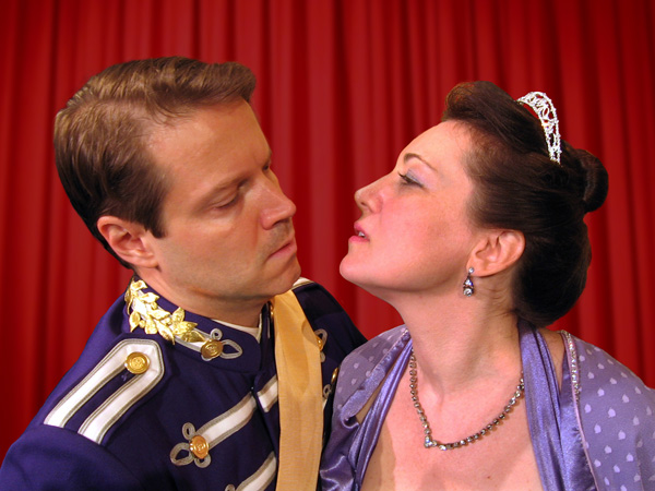 Lang and Murphy as Lunt and Fontanne